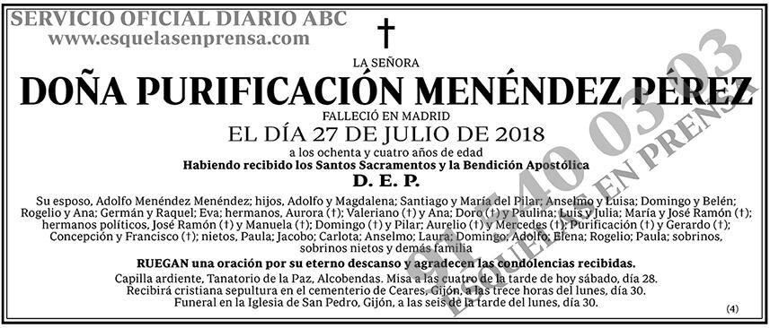 Purificación Menéndez Pérez